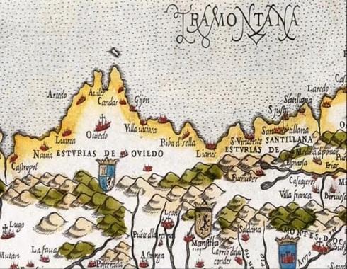 mapa de la epoca