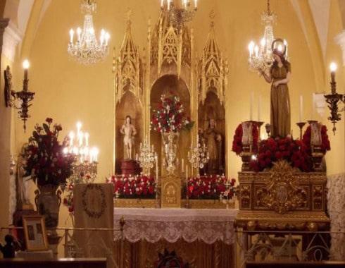 retablo den la capilla de santa magadalena